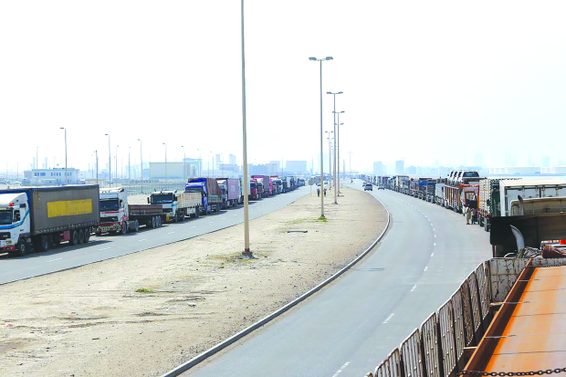 New fast-track procedures for trucks at GCC borders