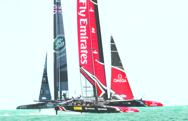 Challengers begin voyage for America's Cup