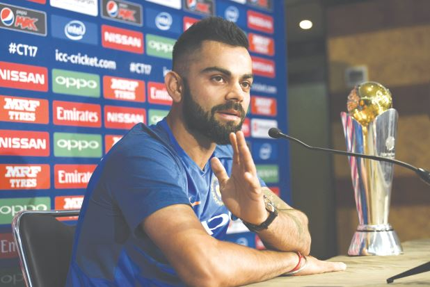 Kohli 'not nervous' to be in England after Manchester attack