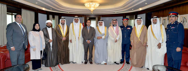 Vow to maintain security and enforce the law in Bahrain