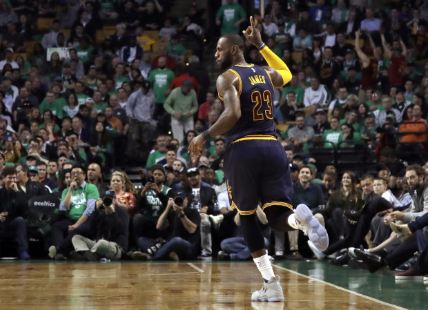 NBA: 'King' James reigns as Cavs book rubber match with Warriors
