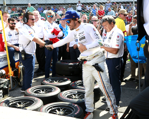 All eyes on Alonso at Indianapolis 500