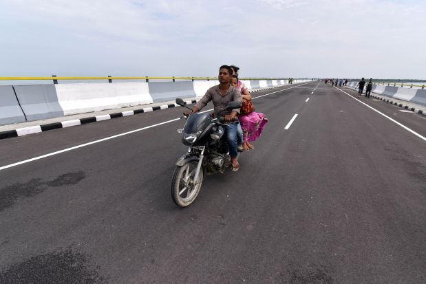 India opens its longest bridge near China border