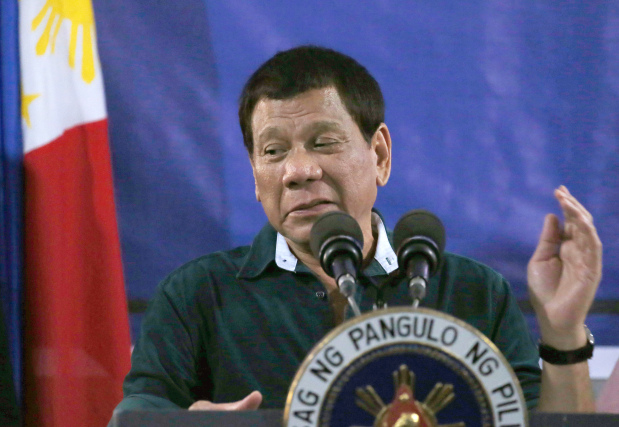 Philippines' Duterte jokes about rape amid concern over martial law abuses