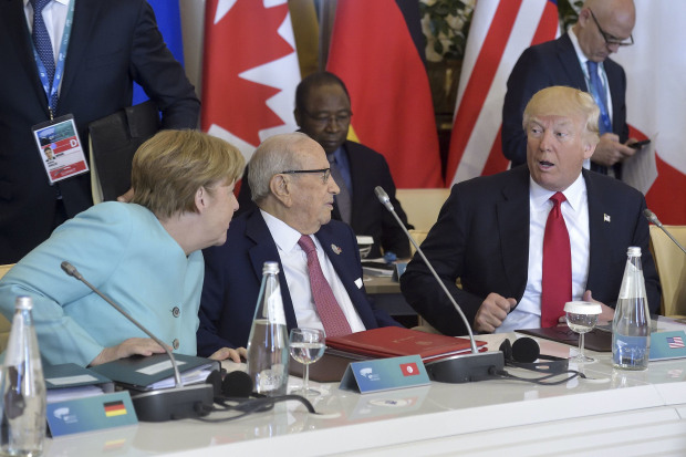Stormy climate at G7 as Trump goes his own way