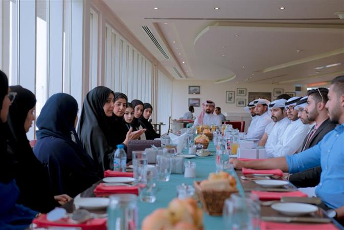MKF hosts lunch for Rayaat Programme graduates
