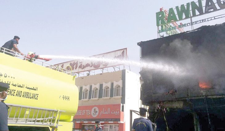 Fire breaks out at shopping mall in Oman, no casualties