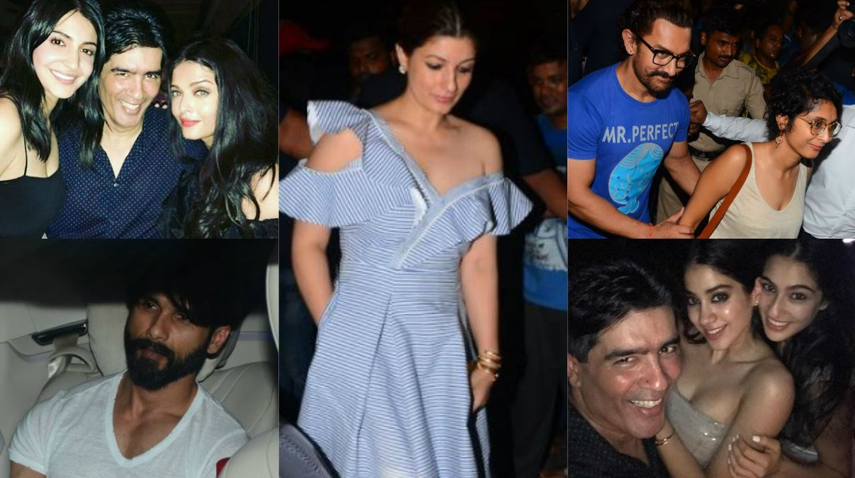 Photos: Stars party hard at Karan Johar's birthday bash