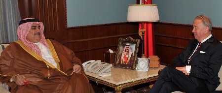 Foreign Minister meets President of International Peace Institute