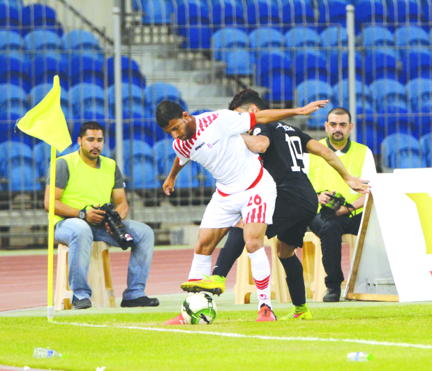 Batelco score five goals past Ahlam