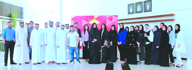 Graduates of the Rayaat Scholarship Programme honoured