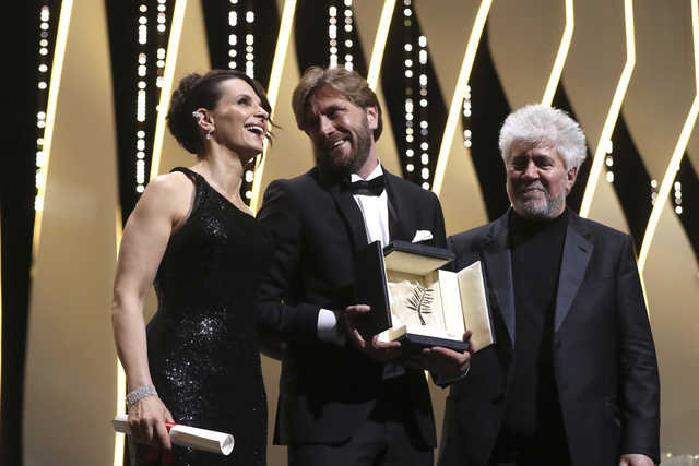 'The Square' wins top honour at Cannes