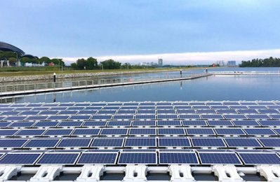 ABB helps build floating solar PV project in Singapore