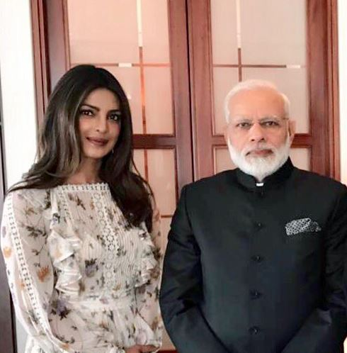 Priyanka is trolled for dress she wore while meeting Narendra Modi in Germany