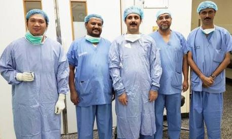 Muscat hospital removes thyroid tumour through mouth