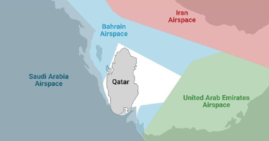 Qatar: This is how the airspace ban will affect Qatar Airways