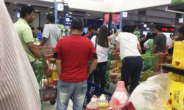 Diplomatic row may lead to food shortages and panic buying in Qatar