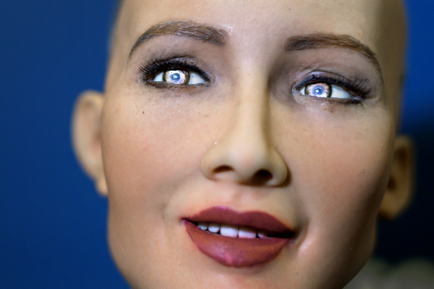 AI 'good for the world'... says ultra-lifelike robot