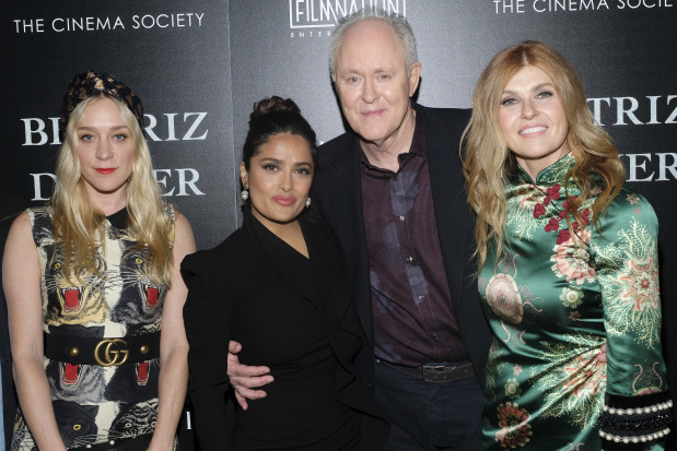 For Salma Hayek, 'Beatriz at Dinner' gives voice to immigrants