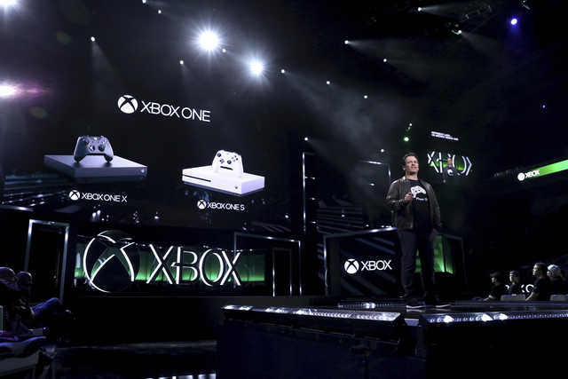 Microsoft challenges Sony with powerful new Xbox One X