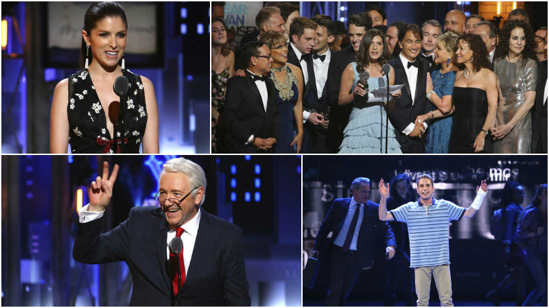 PHOTOS: Outsiders make good as 'Dear Evan Hansen' wins big at Tonys
