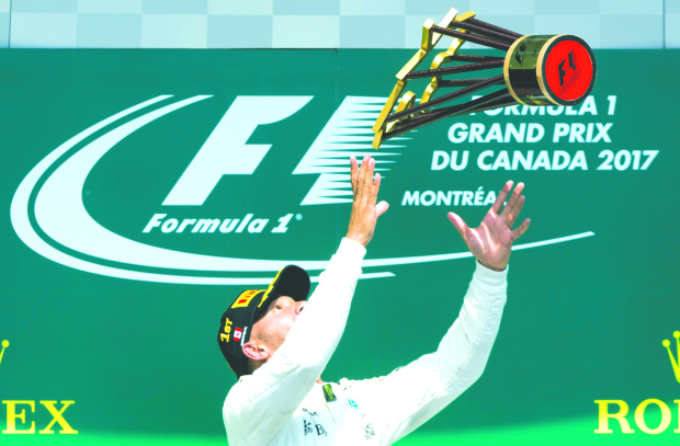Mercedes back on top with 1-2 finish at Canadian Grand Prix