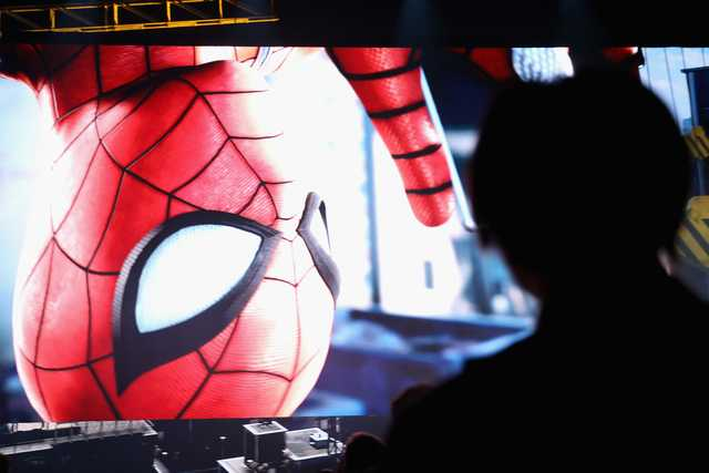 """Sony unveils new """"Spider-man"""" game at E3 expo"""