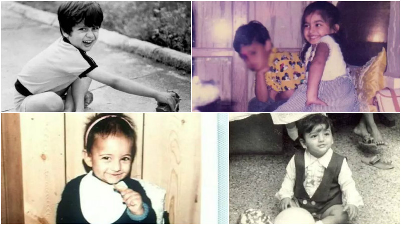 Can you identify these Bollywood celebrities from their ADORABLE baby pictures?