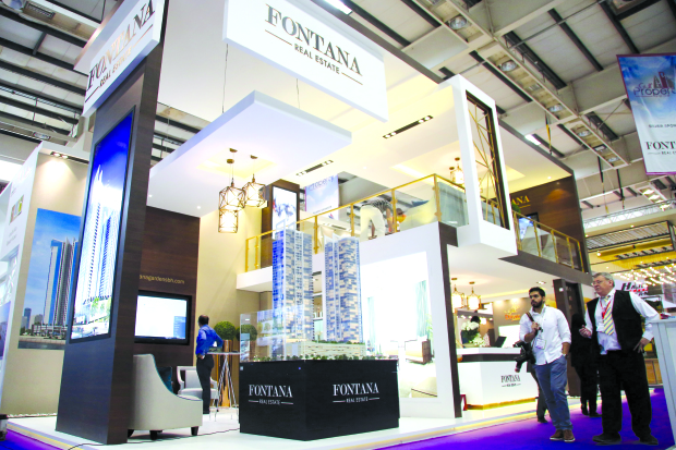 Stands shortlisted for Gulf Property Show awards