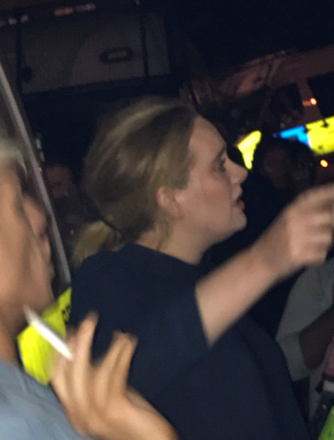 Celebs: Singer Adele joins vigil for victims of London tower block inferno