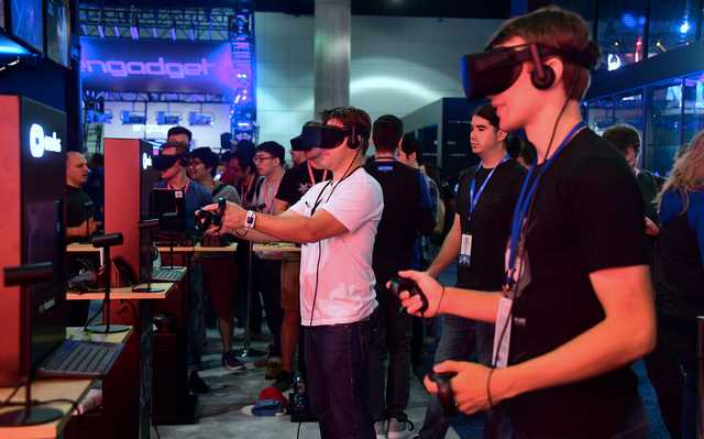 Game players face their demons in virtual reality