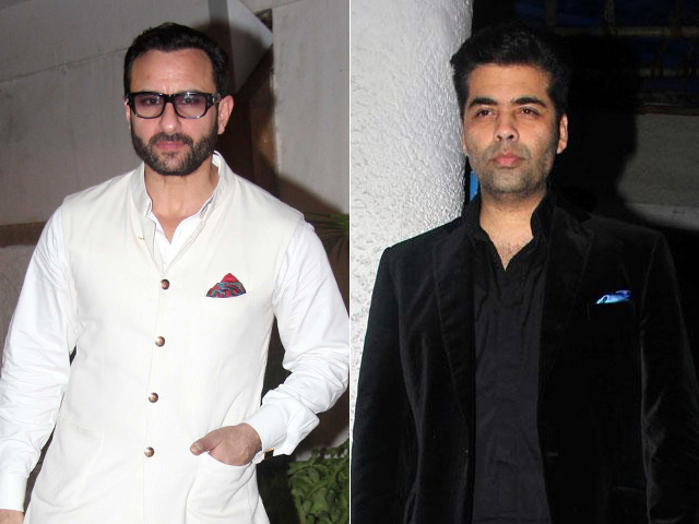 Saif Ali khan to co-host IIFA 2017 with Karan Johar