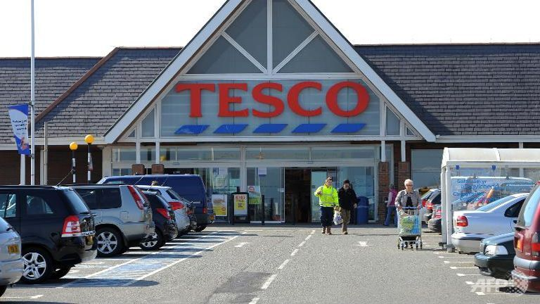 Tesco reports strongest UK sales growth for seven years