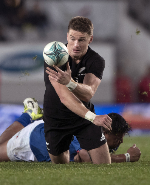 All Blacks too strong for Samoa at Eden Park