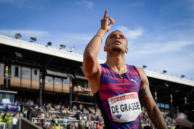 De Grasse flies to victory in Stockholm, Bahrain's Alsadik fourth