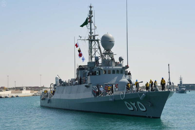 Saudi navy seizes boat with weapons near offshore oilfield