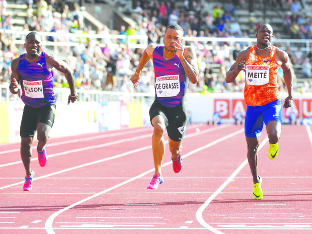 De Grasse races to 100m victory