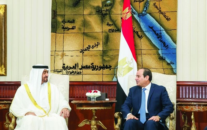 UAE, Egypt urge concerted efforts to combat terror and extremism