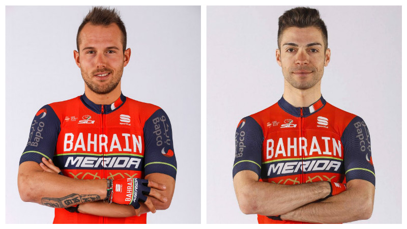 Bahrain Merida cyclists impress