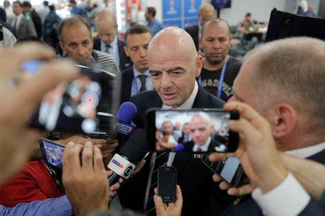 Infantino: Video technology is the future of football