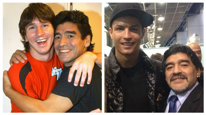 Maradona prefers Messi, but dubs Ronaldo 'incredible'