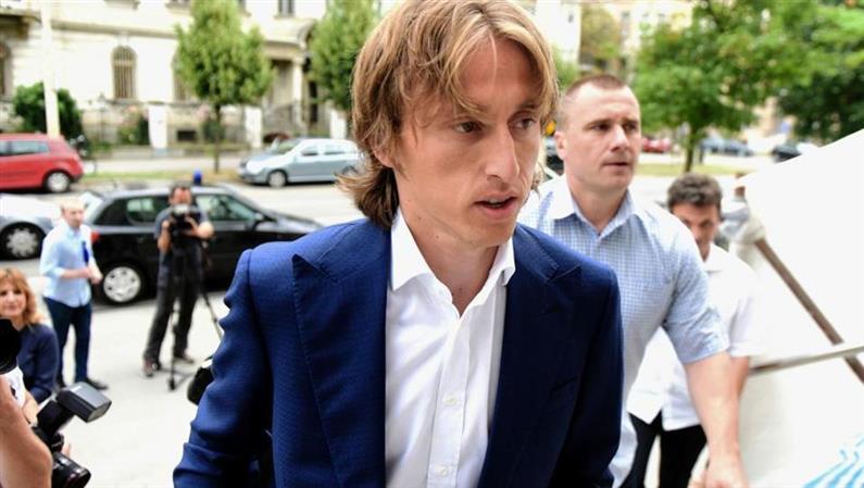 Real Madrid's Modric probed over false testimony