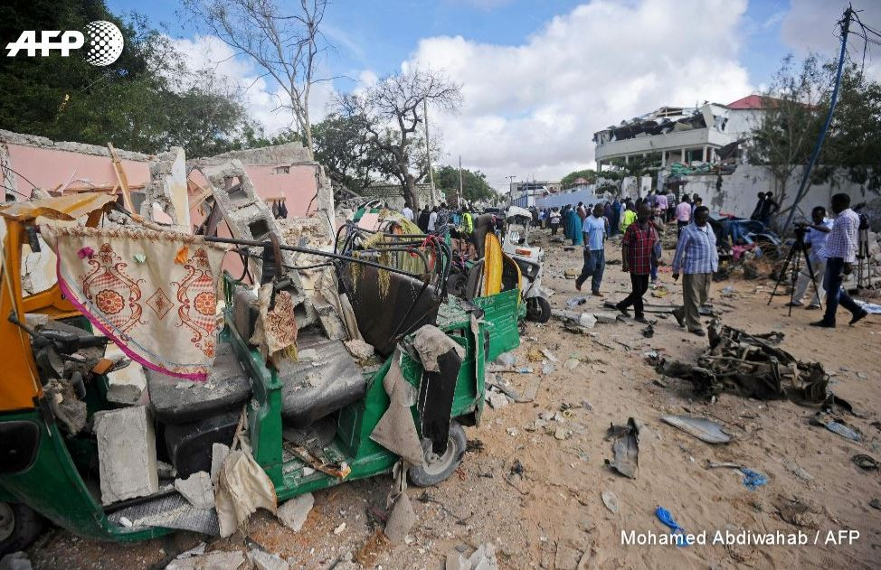 Car bomb in Somalia capital kills at least 15