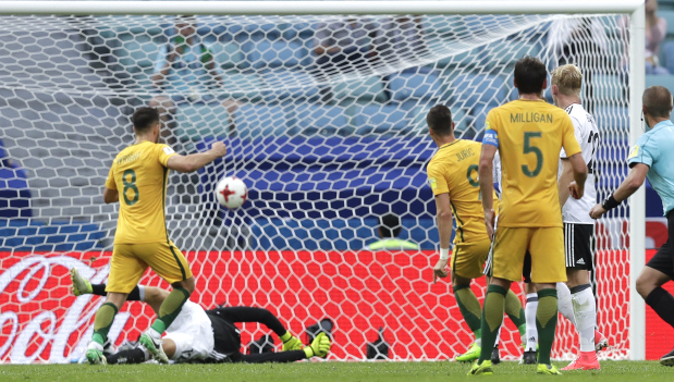 Young Germany tame Australia