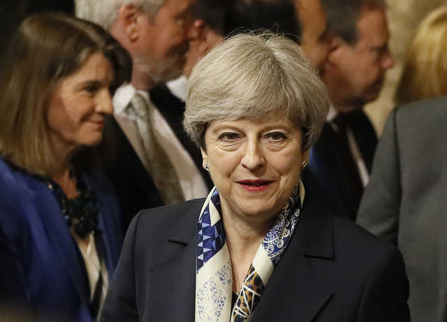 May to confront Brexit worries at EU summit