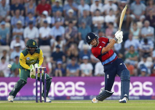 England too hot for South Africa
