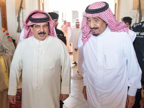 His Majesty congratulates Saudi king