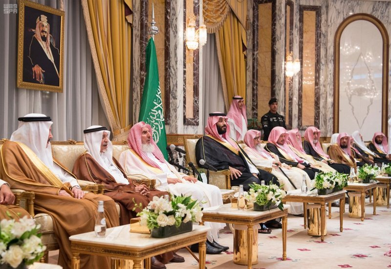 PHOTOS: New Saudi Crown Prince receives pledges of allegiance