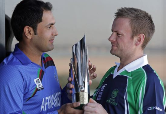 Afghanistan and Ireland given full test status