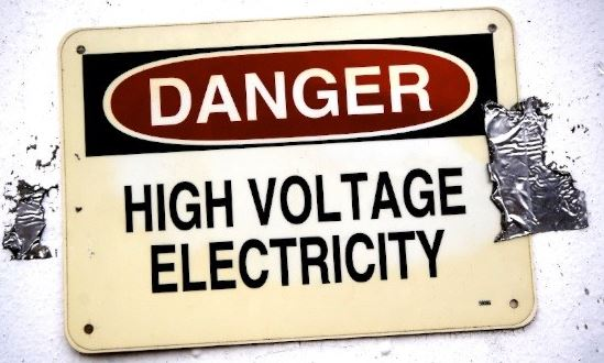 Man killed by electric shock